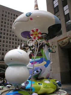 takashi murakami sculptures 1990's - Google Search