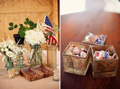 Americana Rustic 4th of July Wedding: LIKE LIKE LIKE~***has some of the ideas Amy emailed us***