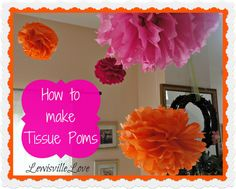 Lewisville Love: Pretty Tissue Poms (HoH106)