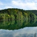 plitvice lakes - reflection