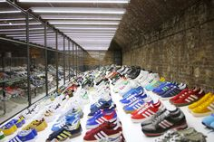 Trainer heaven, drowning in Adidas: Inside the Adidas Spezial exhibition