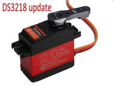 1X DS3218 mise à jour servo 20 KG plein metal gear numérique servo baja servo servo Étanche pour baja voitures + Livraison gratuite