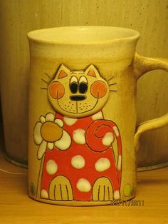 Crazy Cat Lady, Crazy Cats, Funny Coffee Cups, Coffee Humor, Ceramic Mugs, Glaze, Pottery, Tableware, Inspiration