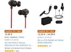 Amazon: Elektronikartikel von Aukey mit Rabatt für einen Tag https://www.discountfan.de/artikel/technik_und_haushalt/amazon-elektronikartikel-von-aukey-mit-rabatt-fuer-einen-tag.php Acht Elektronikartikel von Aukey sind jetzt bei Amazon für einen Tag zu reduzierten Preisen im Angebot. Mit dabei: Bluetooth-Empfänger, USB-Ladegeräte und Powerbanks. Amazon: Elektronikartikel von Aukey mit Rabatt für einen Tag (Bild: Amazon.de) Die Elektronikartikel von Aukey mit Rabatt si