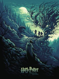 Harry Potter and The Prisoner of Azkaban (2004) by Dan Mumford