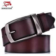 Pas cher DINISITON designer ceintures hommes de haute qualité ceinture en  cuir véritable homme de mode 2b9574e3f4a