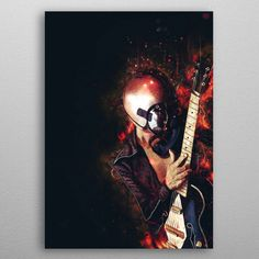 Bob Log III Caricature by Abraham Szomor | metal posters - Displate
