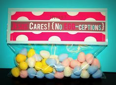 Detail-Oriented Diva!: Easter Basket Re-Label: Jesus Cares! {No Egg-ceptions}