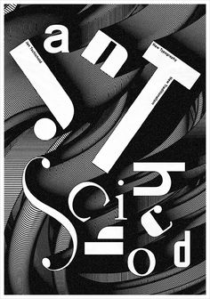 It's Nice That | Minimal type and computer graphics-inspired experimental posters from Chae Byung-rok