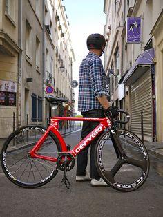 Lov this! Paris Cervelo