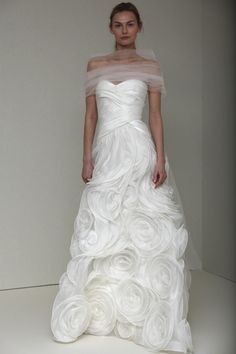 Used Monique Lhuillier Shelby Wedding Dress