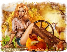 Graphics of Fantasy : CT Tag Harvest Blessing