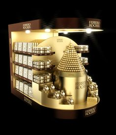 Ferrero Rocher pallet POSm on Behance