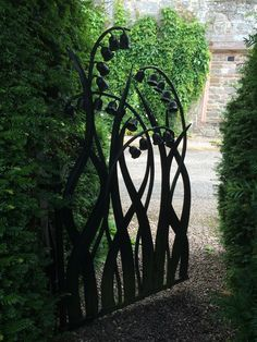 Another beautiful gate in gardens at Hutton in the forest