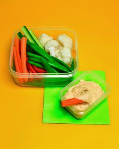 Hummus And Veggies Martha Stewart Living Getting Kids To Eat Their Vegetables Is Easy