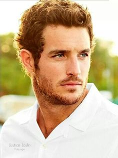 Justice Joslin, American, former football player, turned model & actor, b. Hot Ginger Men, Justice Joslin, Badass Beard, Canadian Football League, And Justice For All, Look Man, Evolution Of Fashion, Chin Up, Christian Grey