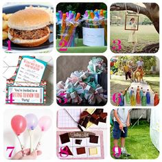 "Speaking of traditions... These would be great for a block party or any family/friend get-together! ""30 Block Party Ideas"""