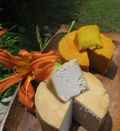 Ever since posting Real Cream Cheese , I have been slightly obsessed with making raw nut cheeses. My first taste of vegan cheese was Che...