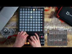 Novation // Launchpad S Control Pack ft Ableton Live Lite performance. - YouTube