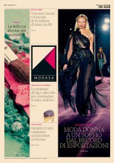 Moda24 - Cover #2  www.ilsole24ore.come/moda24