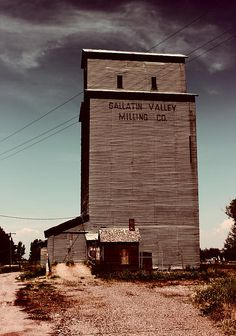 Gallatin Valley Grain Elevator 2 by Cathy Anderson - Gallatin Valley Grain Elevator 2 Photograph - Gallatin Valley Grain Elevator 2 Fine Art Prints and Posters for Sale
