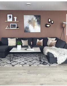 God kveld fra TV-kroken 😘 Blir nok værende her i kveld! Room Paint Colors, Paint Colors For Living Room, Living Room Grey, Home Living Room, Living Room Decor, Modern Living Room Colors, Living Room Color Schemes, Living Room Designs, Open Space Living