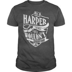 It's Harper thing, you wouldn't understand