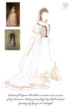 Melinda's Secret Wardrobe - Sissi portrait dress by maya40.deviantart.com on @deviantART