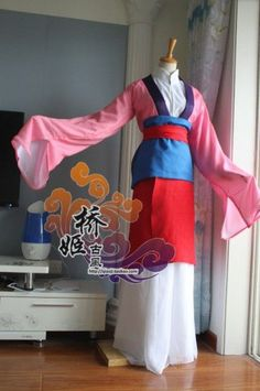 possible mulan outfit - post transformation