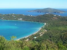 Magen's Bay, St. Thomas, U.S.V.I. A great place to snorkle and set sail to other islands, like Little Hans Lollick.