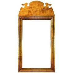 Flanking Bedside - 18th century antique reproduction  Mirrors Queen Anne Bird Mirror
