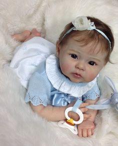 Reborn doll Prototype baby girl LE  Portrait Raven Linda Hill, IIORA