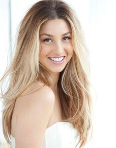 whitney port, ombre hair