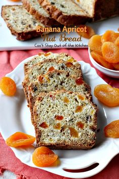 Banana Apricot Nut Bread – Can't Stay Out of the Kitchen Apricot Bread Recipe, Apricot Recipes, Banana Bread Recipes, Fruit Bread, Banana Nut Bread, Dessert Bread, Scottish Bread Recipe, Cinnamon Chips, Breakfast Pastries