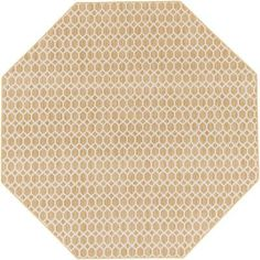 Alcott Hill Casper Neutral Indoor/Outdoor Area Rug Rug Size: Octagon 6'