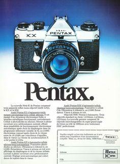 """""""Pentax."""" publié dans Photo, n°103, Avril 1976."""