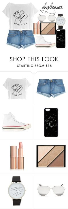 """""""Untitled #156"""" by crazy-967 ❤ liked on Polyvore featuring Current/Elliott, Converse, Elizabeth Arden, ALDO and Victoria Beckham"""