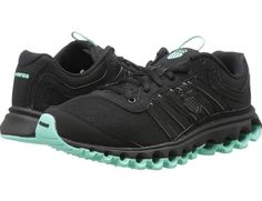 K-Swiss Tubes 150 SNBK Women's Running Shoes Black/Ice Green