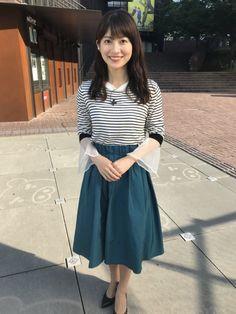 Pleated Skirt, Midi Skirt, High Waisted Skirt, Yamamoto, Beautiful Asian Girls, Asian Style, Womens Fashion, Skirts, Beauty