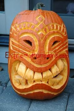 Scary Halloween Pumpkin Carvings   ... !) pumpkin carving ideas. There is no shortage of creative carving