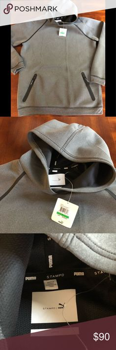 Puma X STAMPD hoodie Men's size Large PUMA X STAMPD bonded fleece hoodie. Very warm and super comfy. New with tags Puma Sweaters