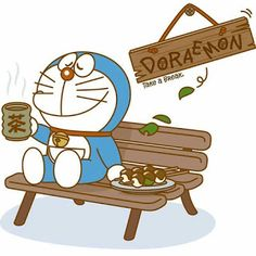 Coffee with doraemon Doremon Cartoon, Cartoon Styles, Doraemon Wallpapers, Cute Cartoon Wallpapers, Onii San, Crayon Shin Chan, Kawaii, We Bare Bears, Cute Icons
