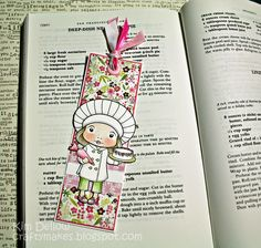 La-La Land Crafts Blog: Chef Marci Bookmark