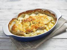 Recette Gratin de pommes de terre au saumon, notre recette Gratin de pommes de terre au saumon - aufeminin.com