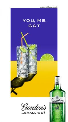 JAMES DAY : GORDON'S    Photographer James Day worked with the team at Anomaly UK on this recent campaign for the world's #1 gin, Gordon's.  The campaign is simple but meaningful, using clean, crisp images with its invitation to enjoy a Gordon's g&t in the early evening.  When you just want to enjoy a damn good gin & tonic, Gordon's wins.  Is it 5PM yet? - Levine/Leavitt  #llreps #jameday #gordons #gintonice #gin #beverages #cocktails #advertising