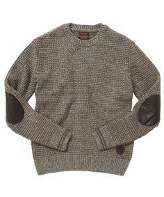 Barbour Brayford Crew Neck Sweater - Mushroom