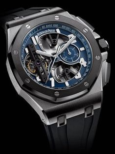 Audemars Piguet Royal Oak Offshore Tourbillon Chronographe - Chubster's choice Men's Watches - Watches for Men ! Amazing Watches, Beautiful Watches, Cool Watches, Audemars Piguet Watches, Audemars Piguet Royal Oak, Cartier, Dream Watches, Fine Watches, Men's Watches