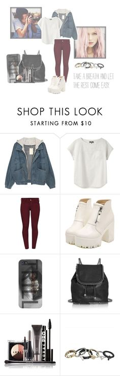 """""""Your style, My style. - Everybody have different styles."""" by alejandra-28lh ❤ liked on Polyvore featuring A.P.C., French Connection, Dr. Martens, STELLA McCARTNEY and LORAC"""