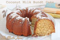 Coconut Milk Bundt Cake - Bizcocho de leche de coco - Mis Dulces Joyas