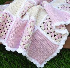 Sweet Dreams Baby Blanket | Craftsy